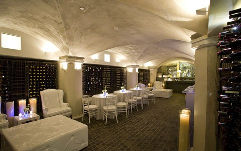 built on the foundation of the 1722 mansion the wine cellar our historic private dining room - Private Dining Room Boston